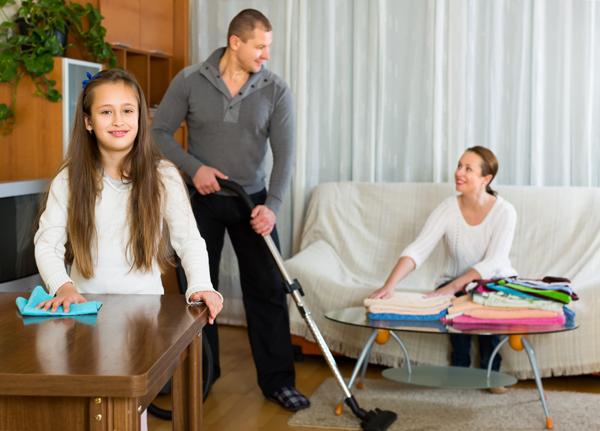 5 consejos para organizar una casa si pap y mam trabajan for Actividades que se realizan en una oficina wikipedia